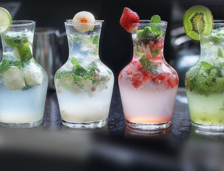 Mojito Rezept tolle Varianten mit verschiedenen Früchten