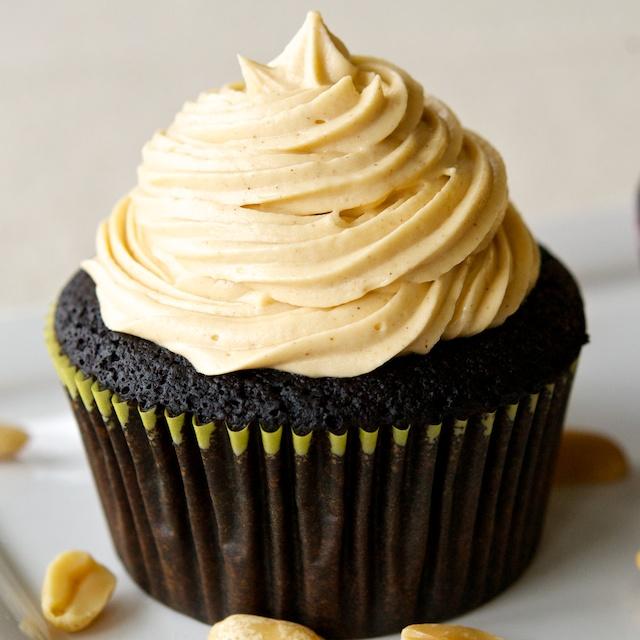 Cupcakes mit Sahnecreme Rezept vegan
