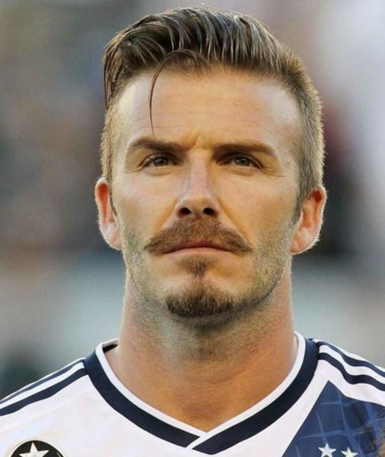 Musketierbart pflegen David Beckham
