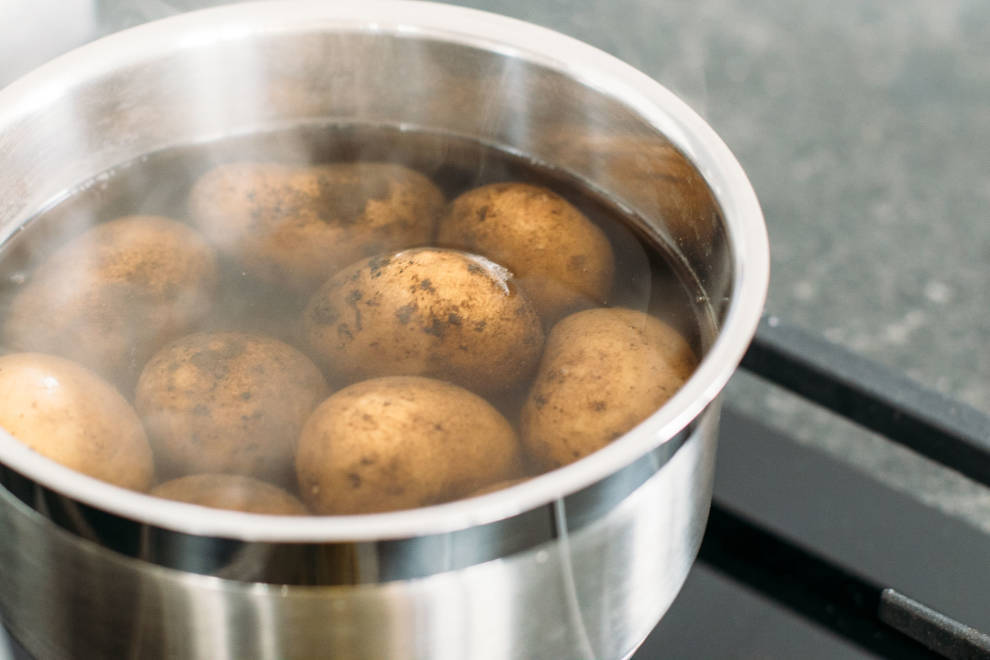 Pellkartoffeln kochen Wassermenge