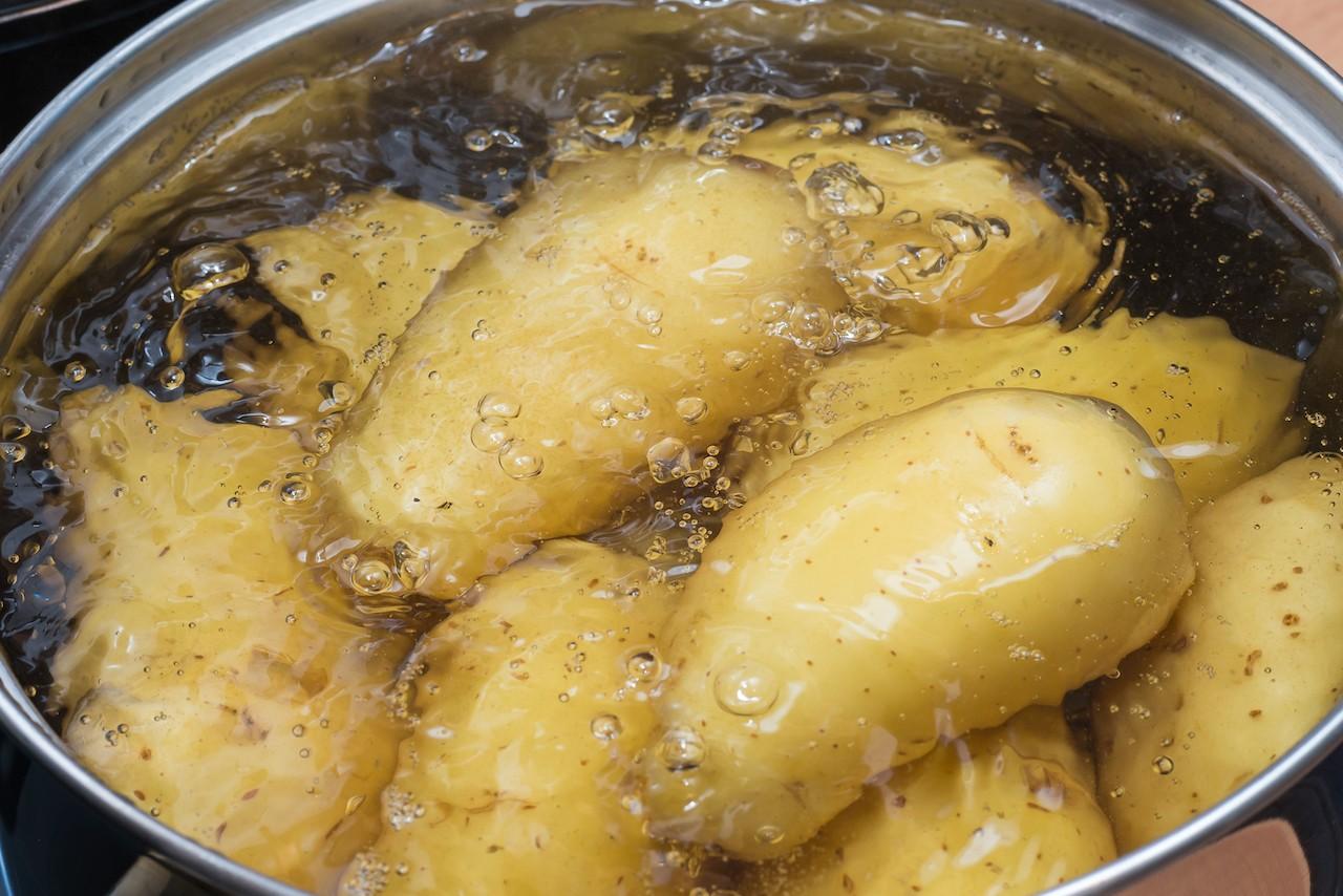 Pellkartoffeln kochen Kartoffelsalat