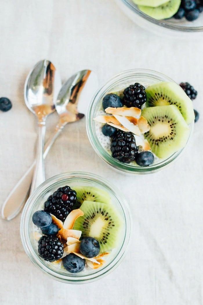 Chia Pudding mit frischen Früchten Rezept