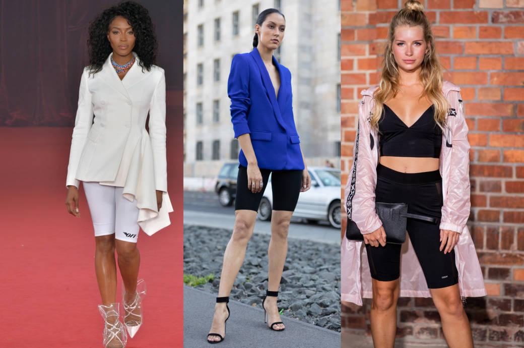 Tendenzen Mode Sommer 2019 Radlerhosen