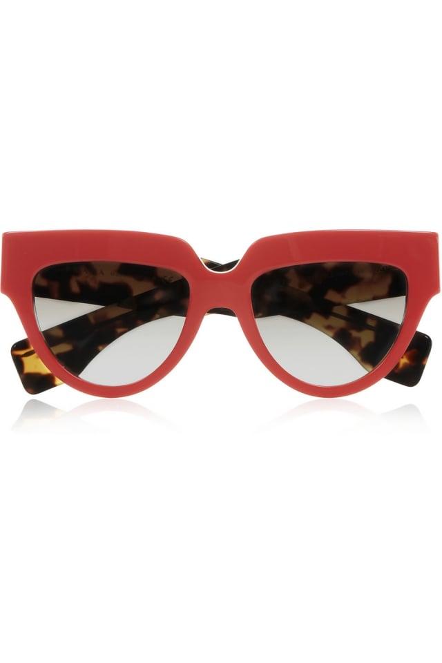 Damenbrillen Retro Look Gestell oben verstärkt