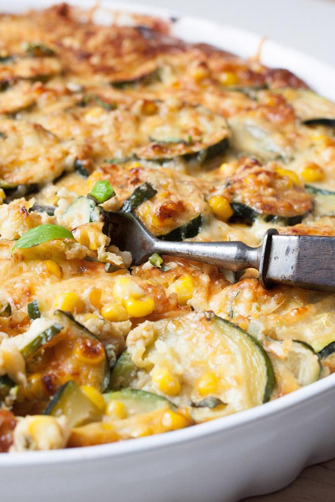 schnelle Sommer Rezepte vegetarische Quiche