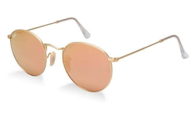 Brillen mit runden Linsen Metallgestell