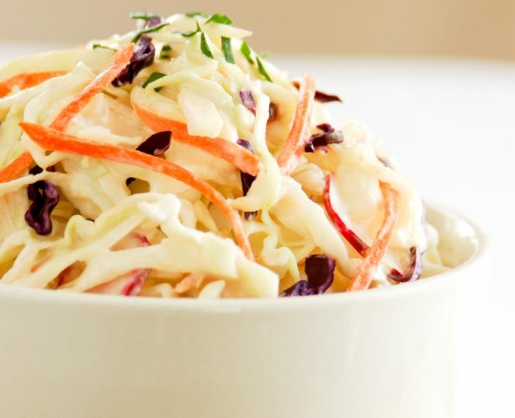 schmackhafte Salate mit Mayo zubereiten