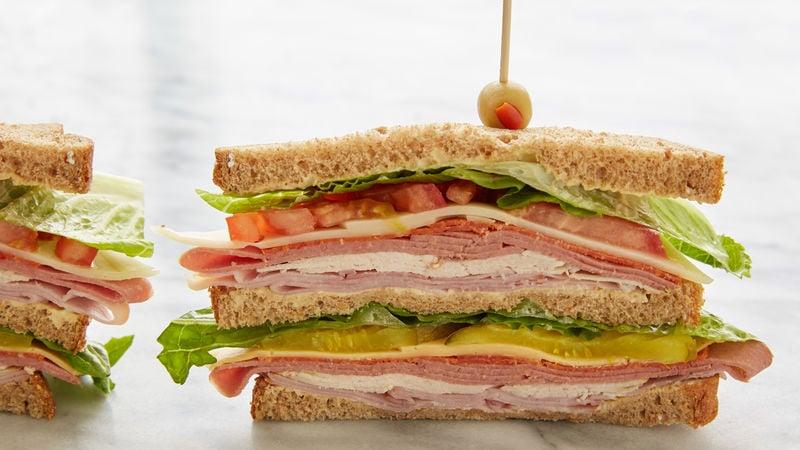 Brunch Rezepte schnell Sandwiches