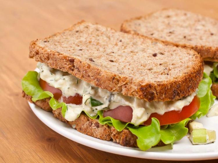 Sandwiches mit Mayo wirklich lecker