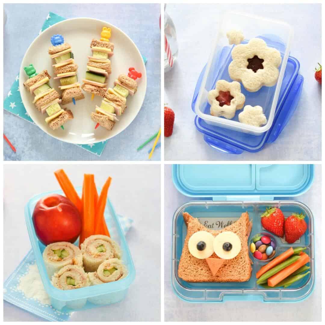 Fingerfood für Kinder Sandwiches zubereiten