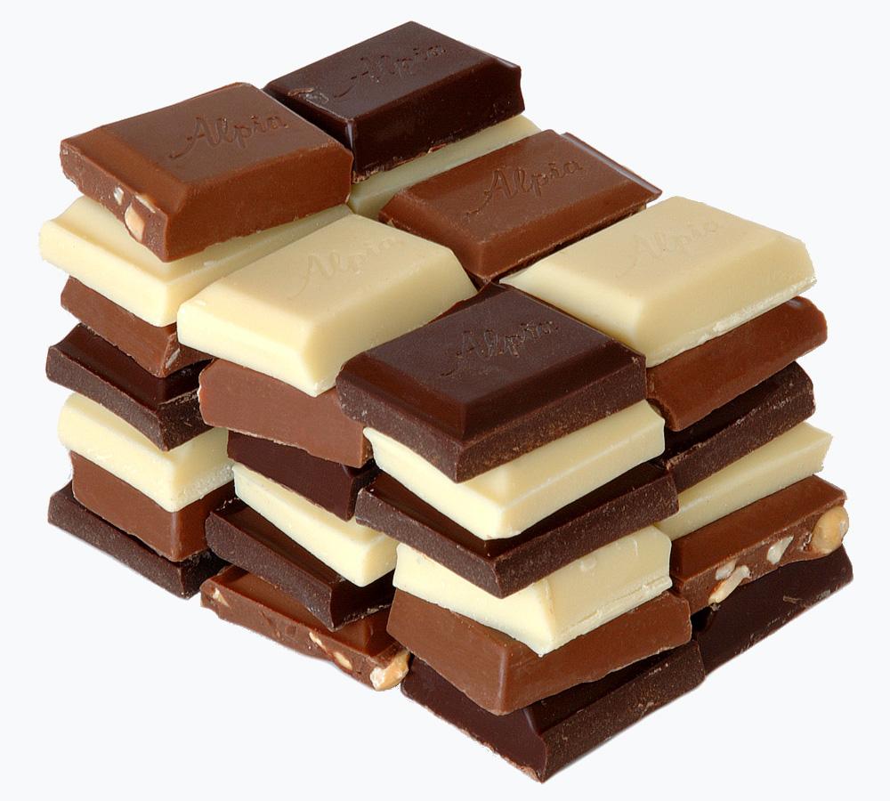 Schokolade selber machen dunkel weiß Vollmich