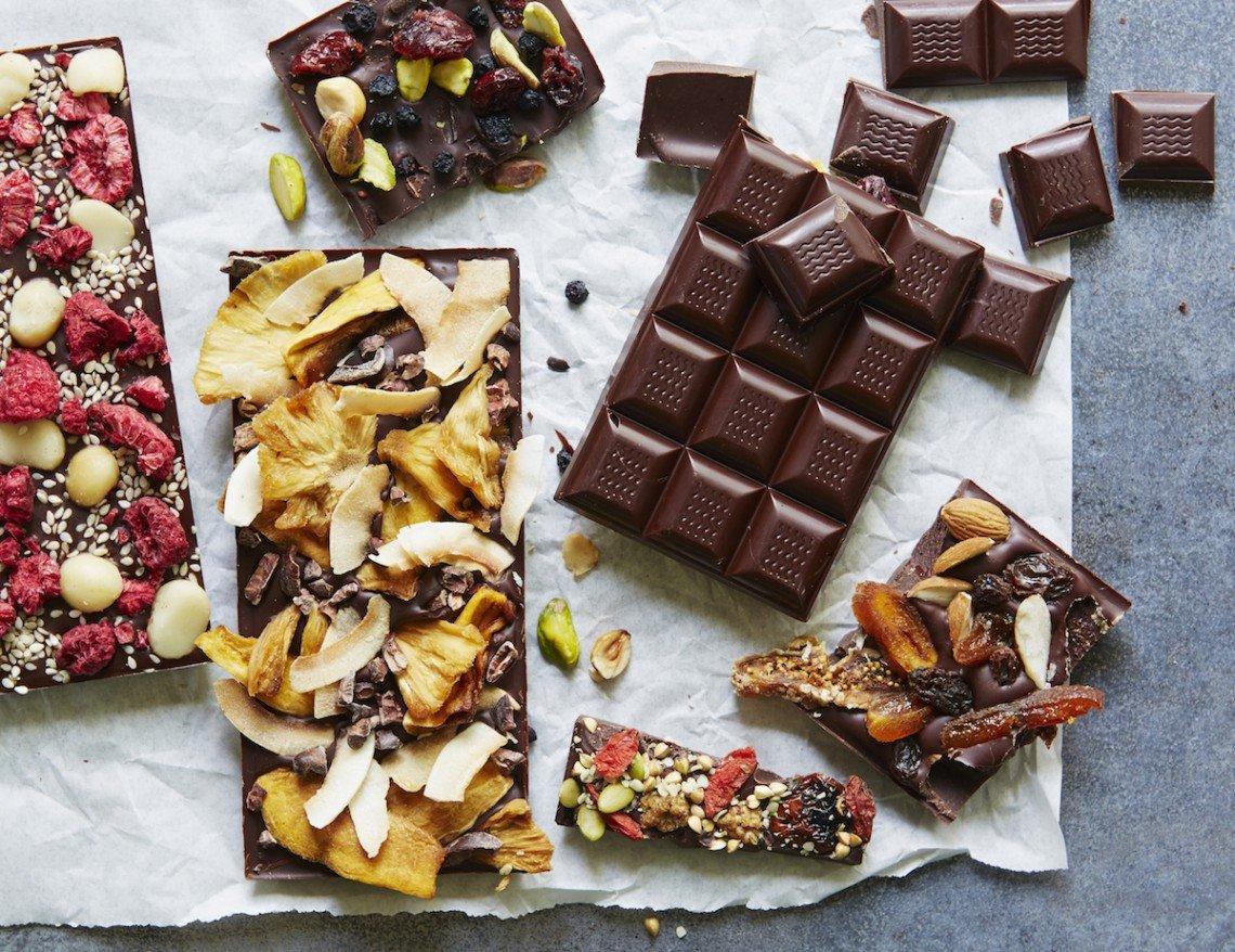 selbstgemachte Schokolade abschmecken Ideen und Anregungen