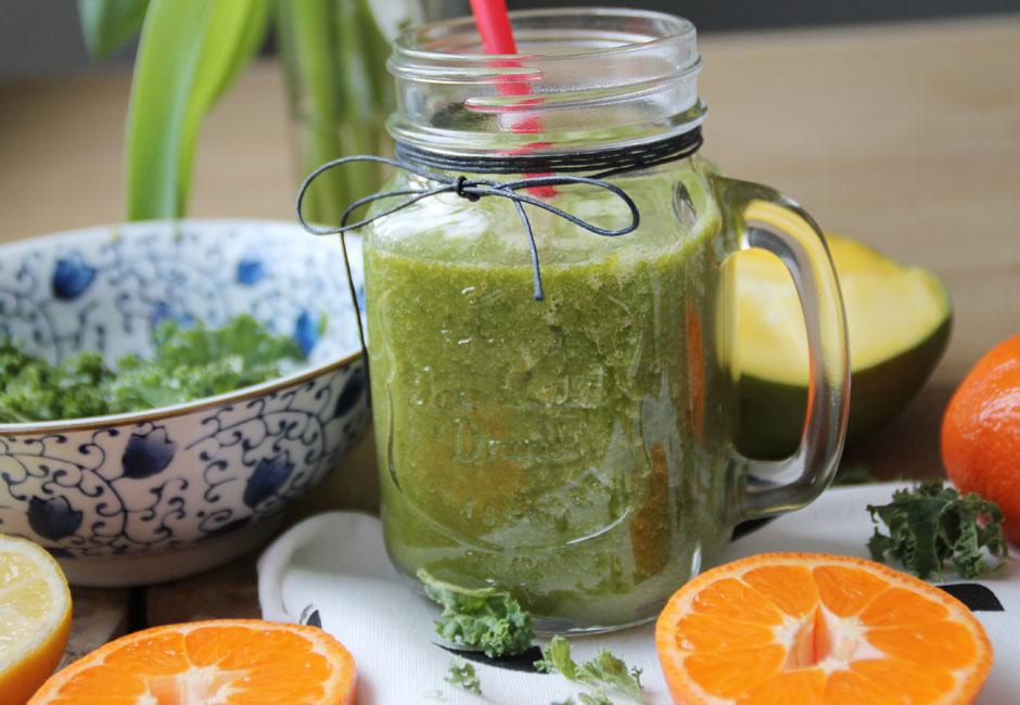 Smoothie grün Rezept