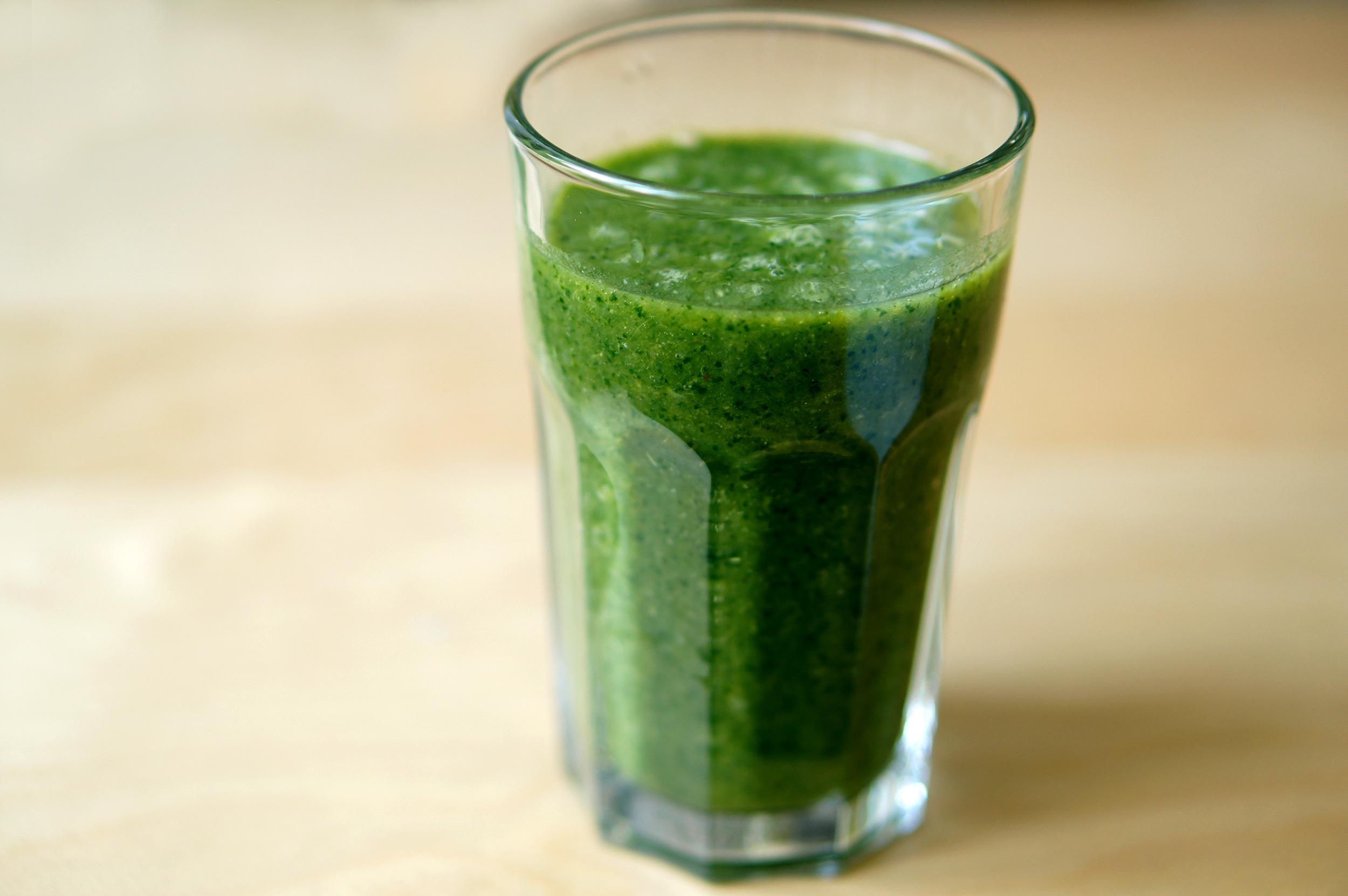 Smoothie grün gesunde Rezepte