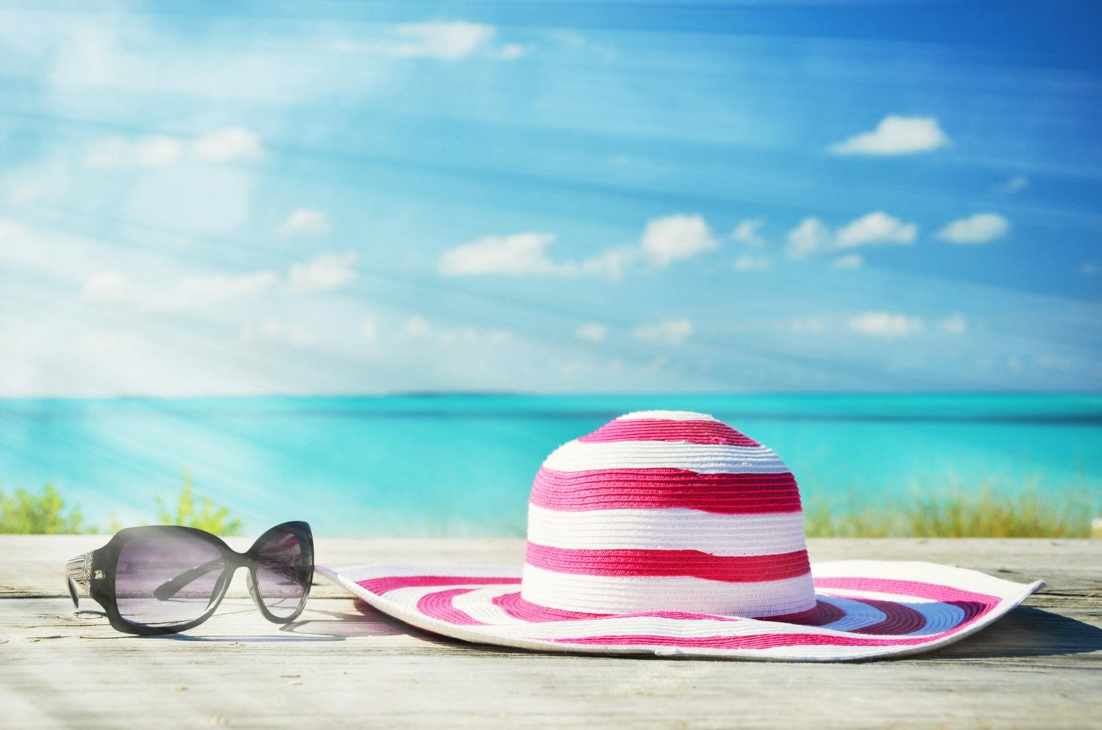 Sonnenschutz Sommer Hut Sonnenbrillen