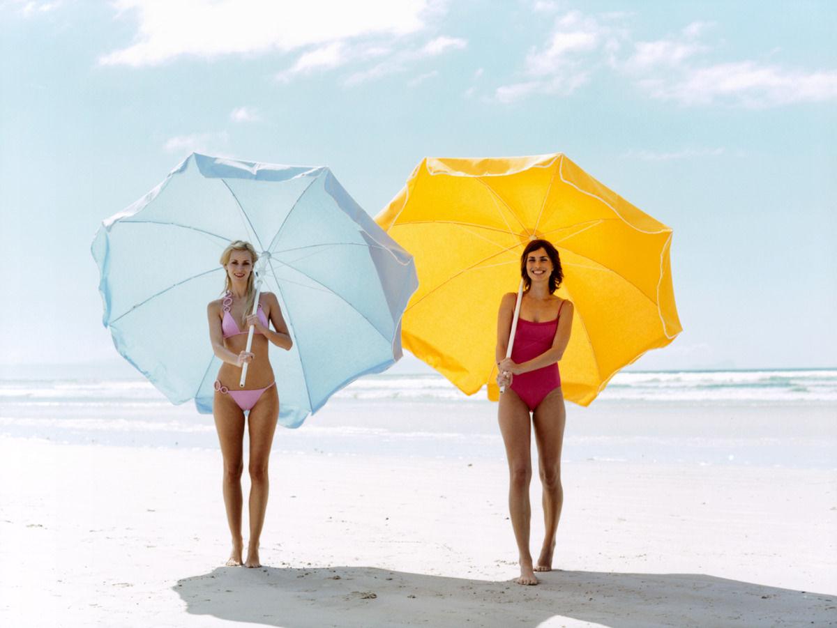 Sonnenschutz Sommer Sonnenschirm Strand