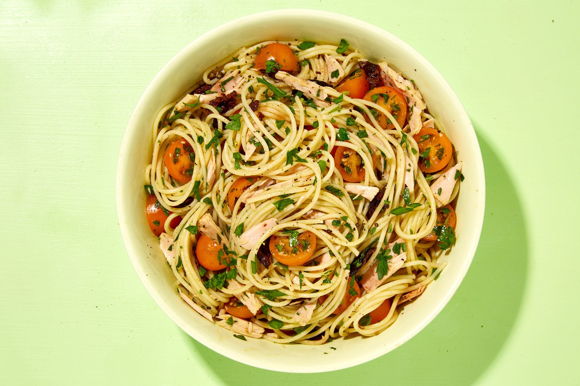 Nudeln mit Thunfisch Spaghetti lecker
