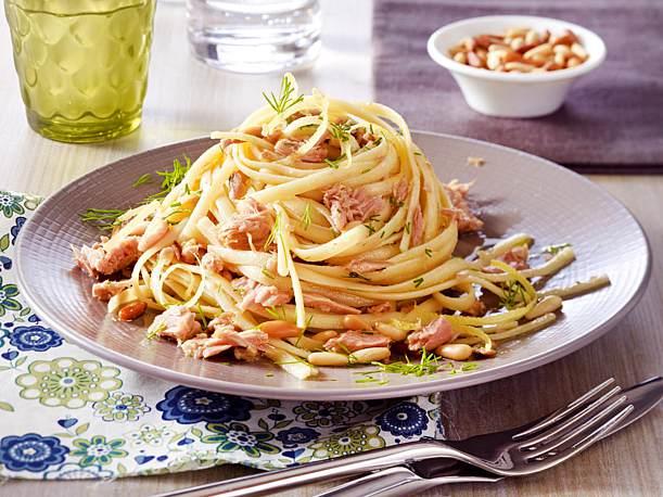Nudeln mit Thunfisch Spaghetti Rezept
