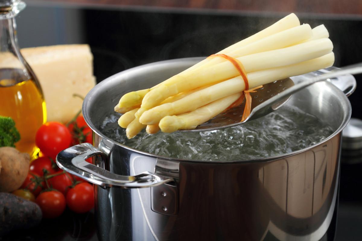 Spargel kochen Anleitung ausführlich Tipps