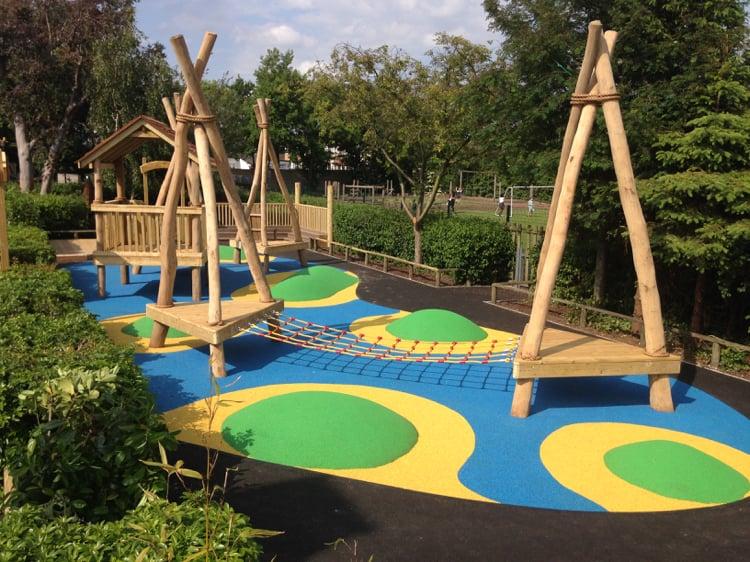 Spielgeräte Garten Treibholz