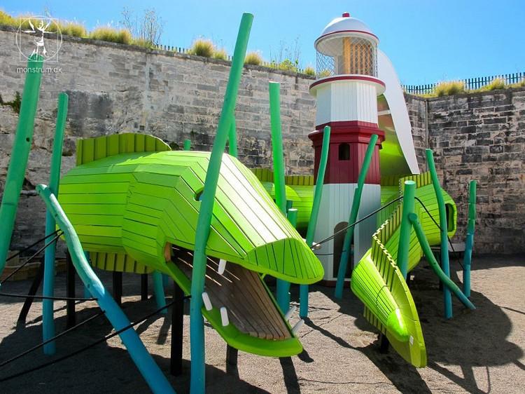 Kinderspielplatz Outdoor ausgefallen Schlange Leuctturm