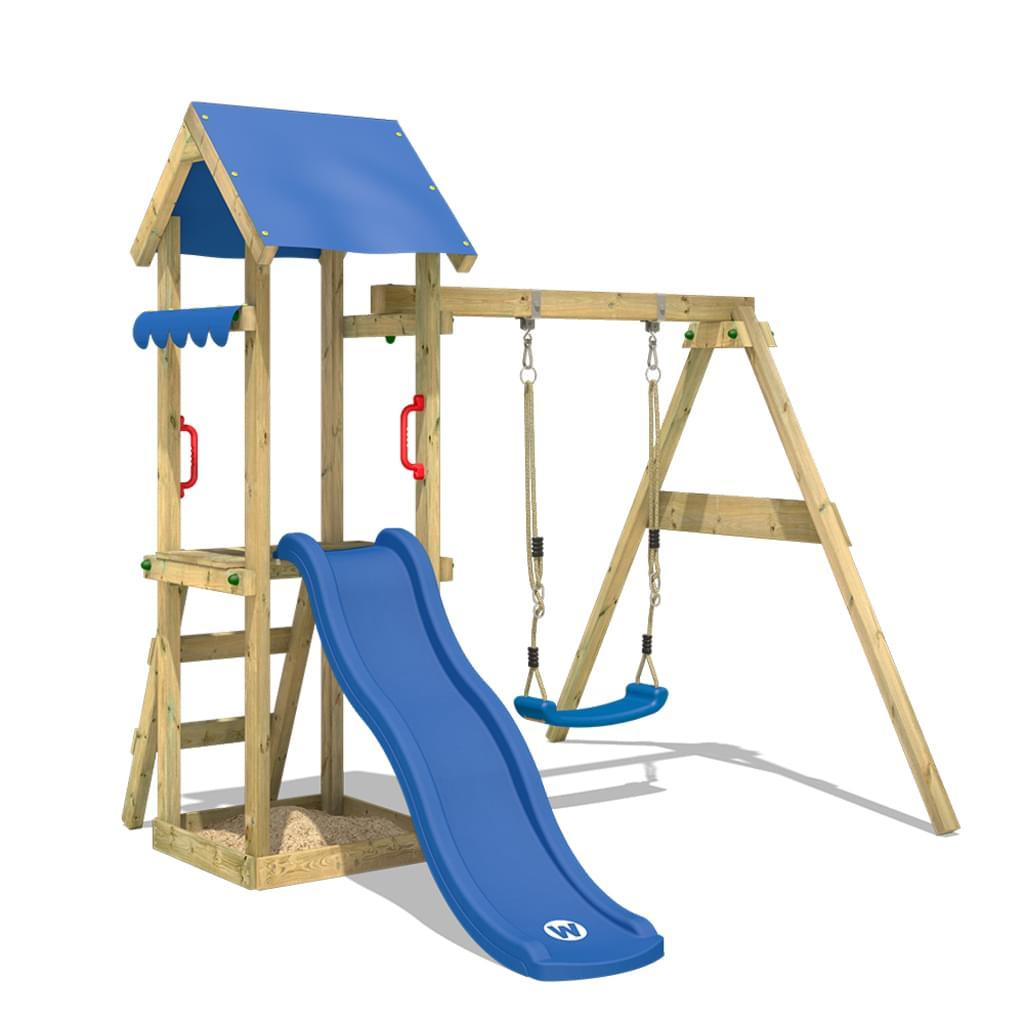 Kinderspielplatz Garten Stelzenhaus selber bauen