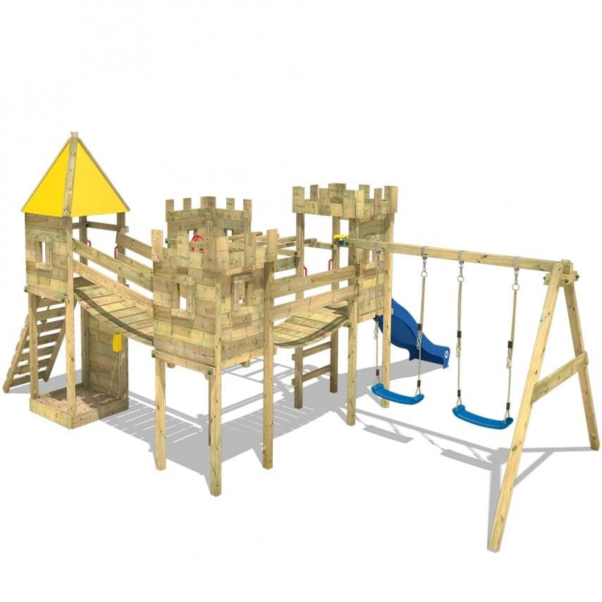 Stelzenhaus Kinder groß eindrucksvoll Burg