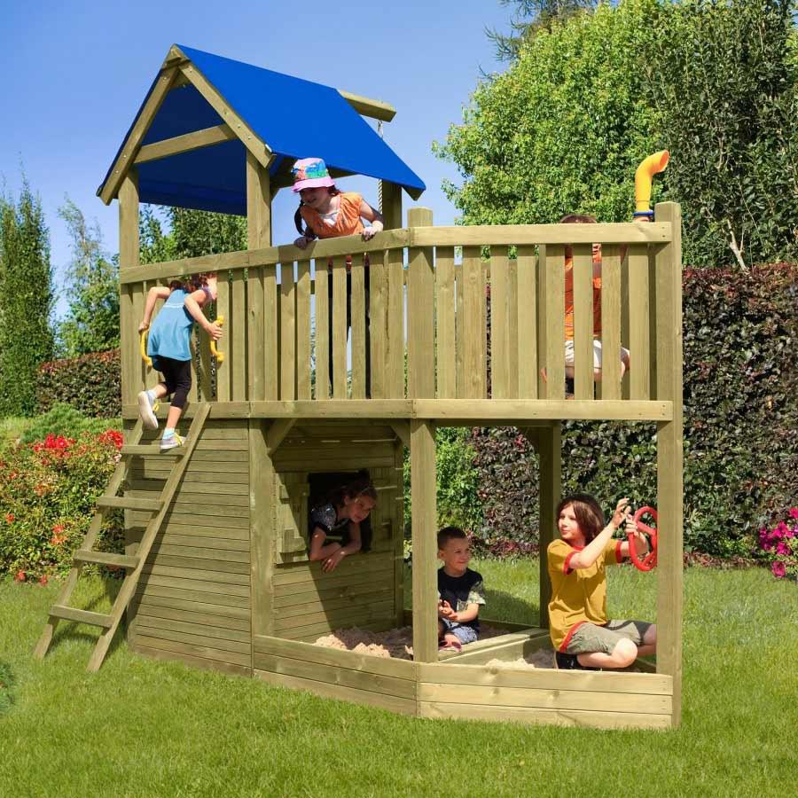 Stelzenhaus Garten Kinder Spaß