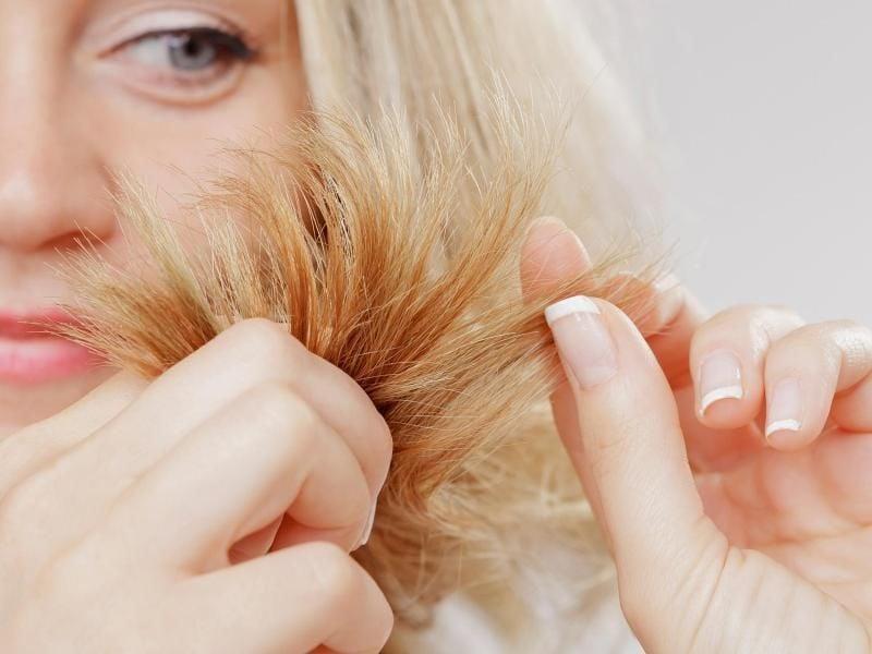Haarmaske Rezepte gegen Spliss