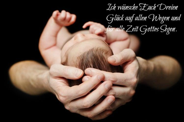 Spruch christlich Baby besinnlich