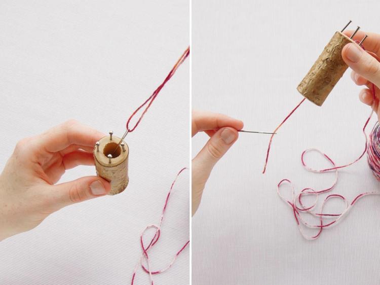 stricken mit Strickliesel Anleitung in Bildern