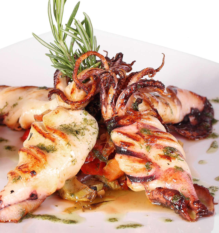 Tintenfisch Rezept gegrillt mit Marinade lecker