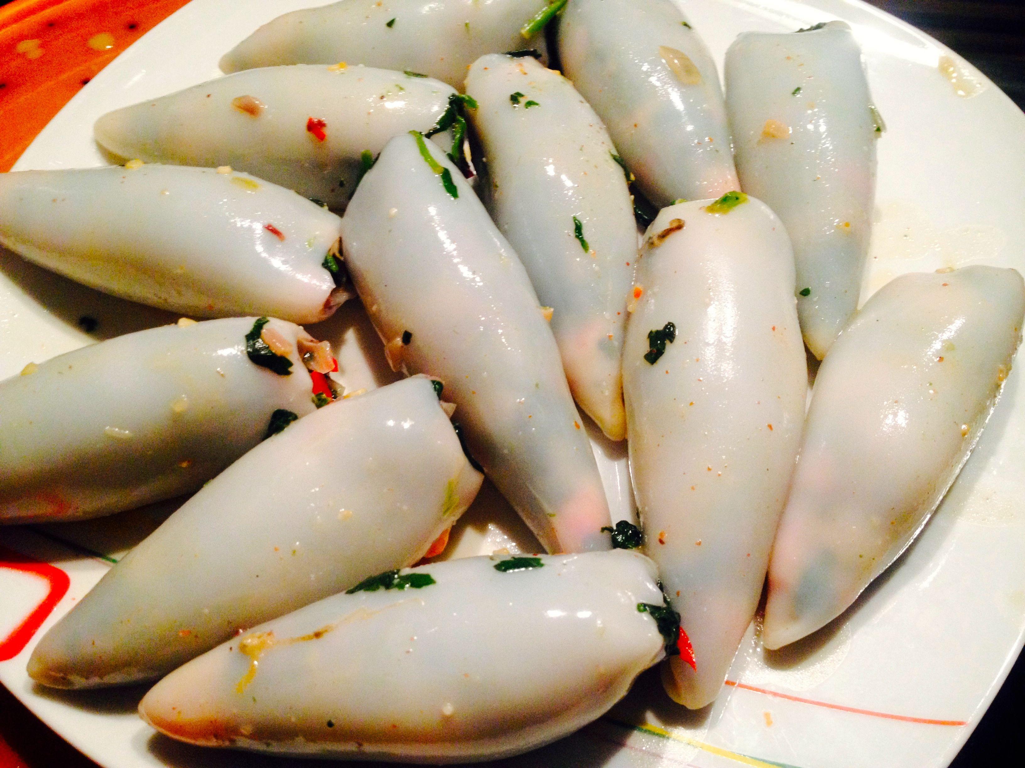 gefüllte Tintenfischtuben selber zubereiten