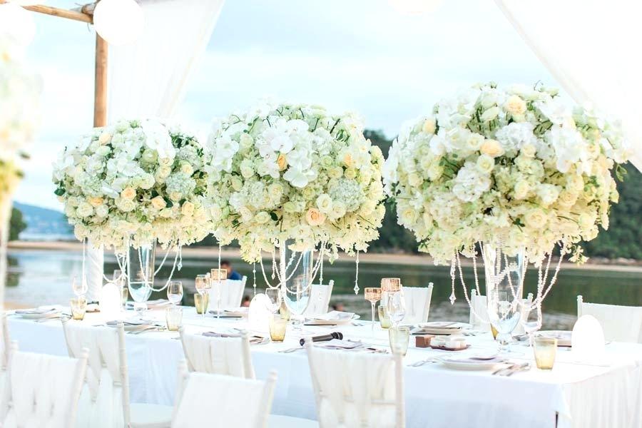 Tischdeko selber machen herrliche Blumensträuße