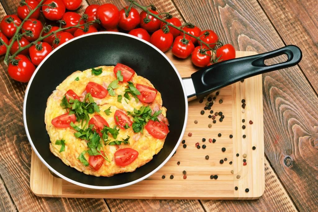 Tomaten-Omelett Rezept Brunch