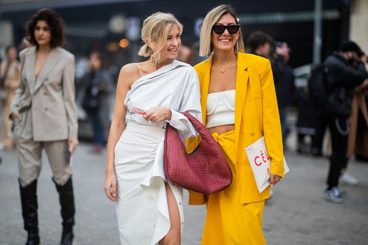Sonnengelb trendige Farbe Sommer 2019