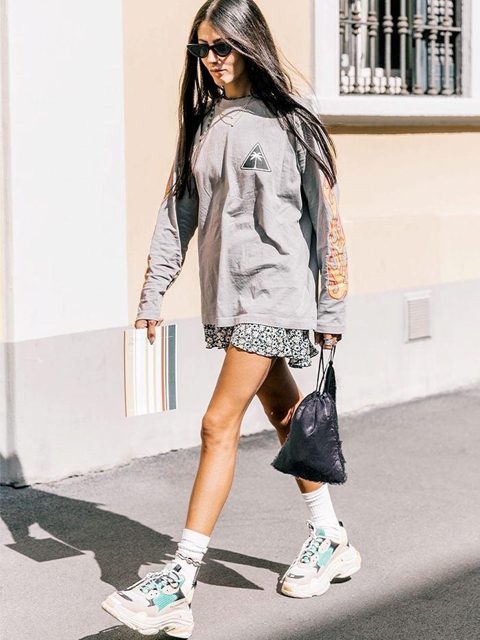 Sommermode 2019 Damen Ugly Sneakers