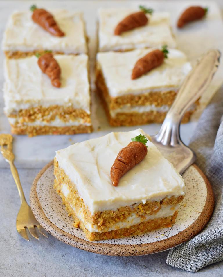 Möhrenkuchen vegan tolle Dessertideen