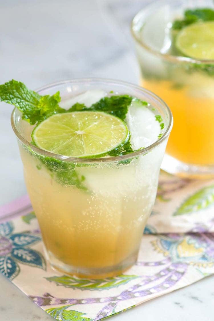 alkoholfreie Getränke Sommer Rezepte