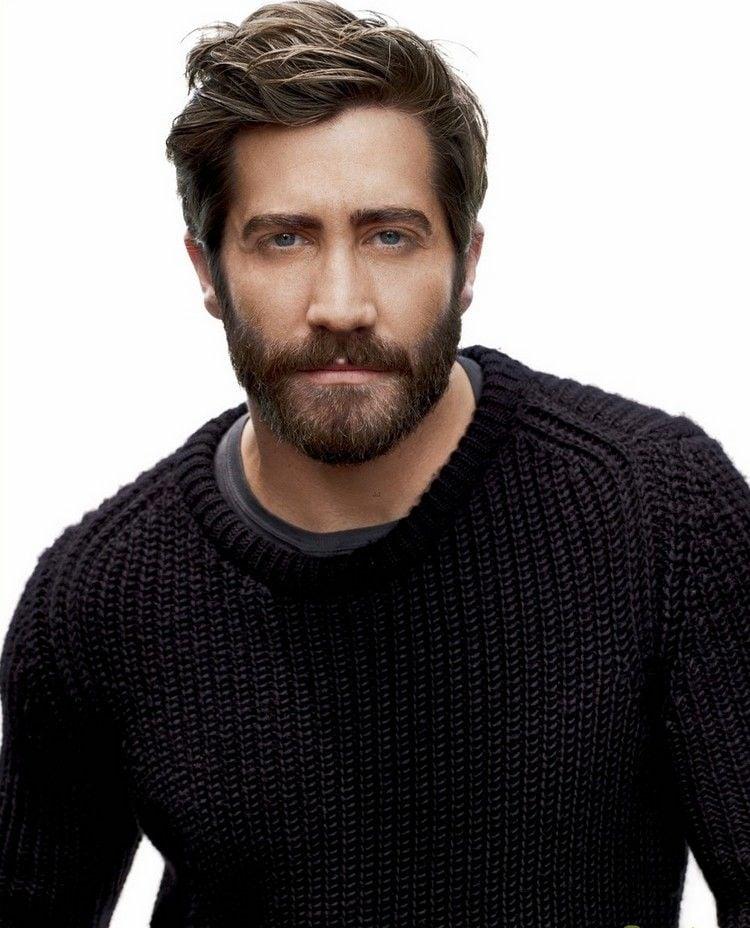 Männerfrisuren mit Bart Jake Gyllenhaal