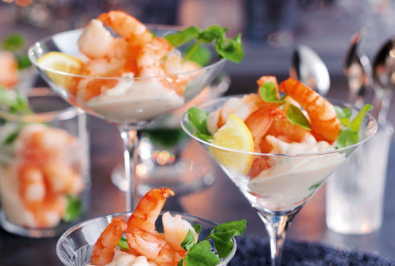 Shrimps Rezepte schmackhafte Cocktails zubereiten