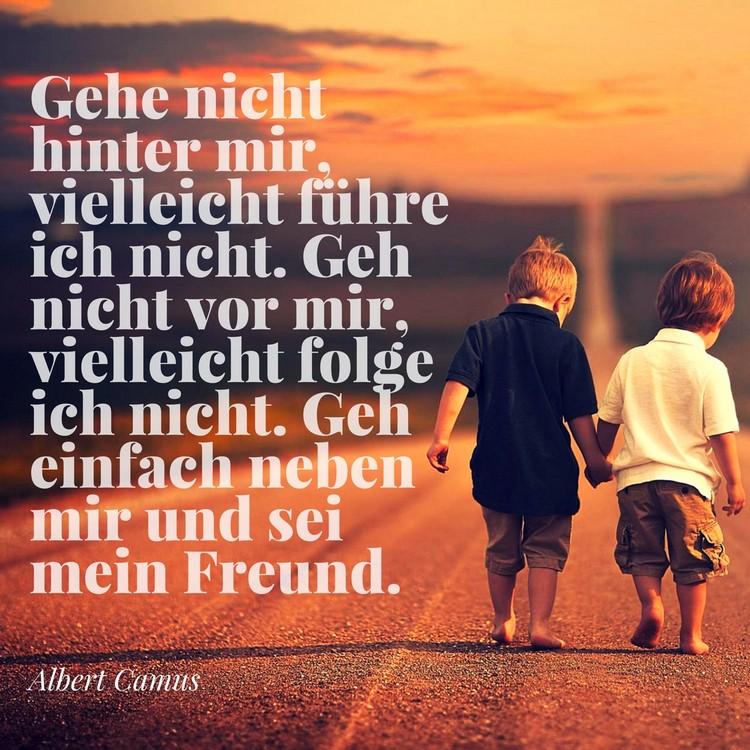weise Zitate Freundschaft Albert Camus