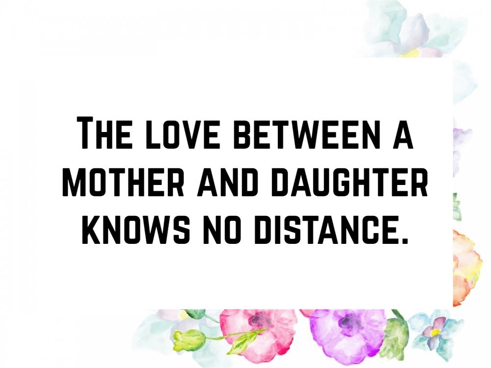 Spuch Liebe Mutter Tochter