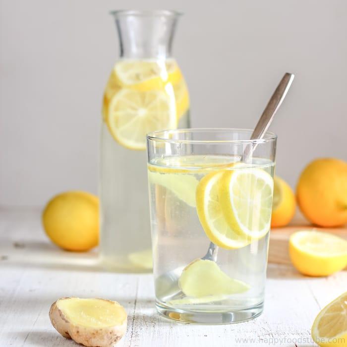 Bauchfett verbrennen Zitronenwasser