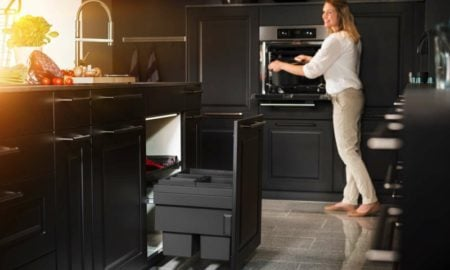 Mülleimer Küche reinigen und sauber halten