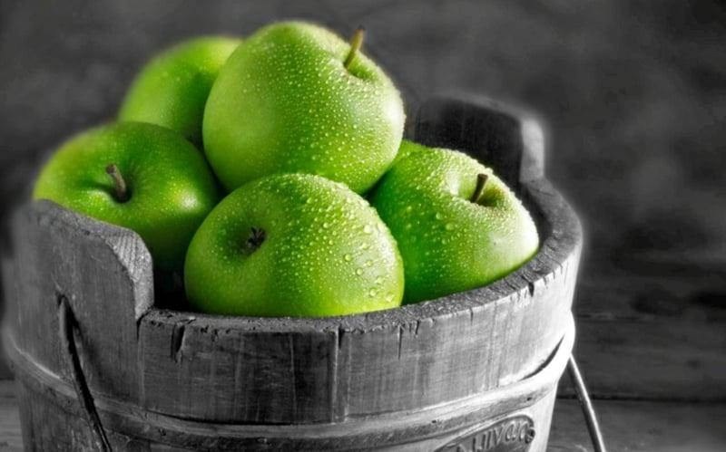 Fruchtsäurepeeling selber machen mit Äpfel