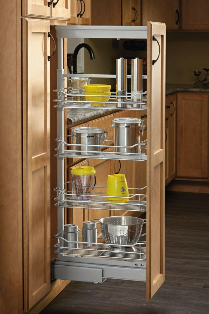 ausziehbarer Schrank Küchenzeile