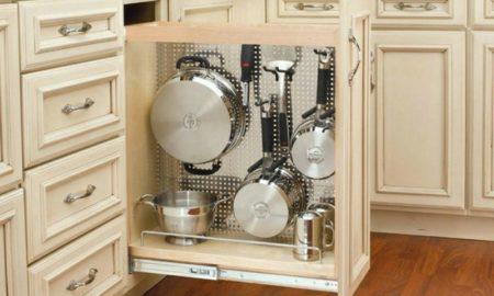 Apothekerschrank Küchenzeile Geschirr aufbewahren Küchenutensilien