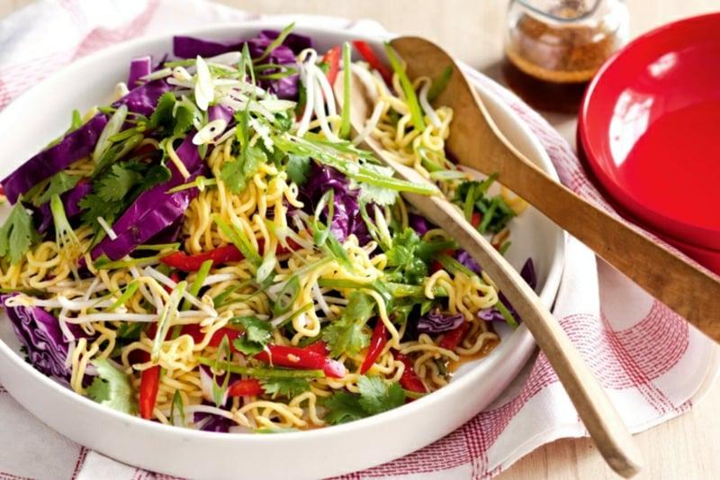 Yum Yum Salat gesundes Rezept