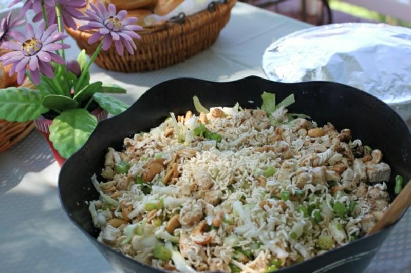 Salate asiatische Küche leckere Rezepte